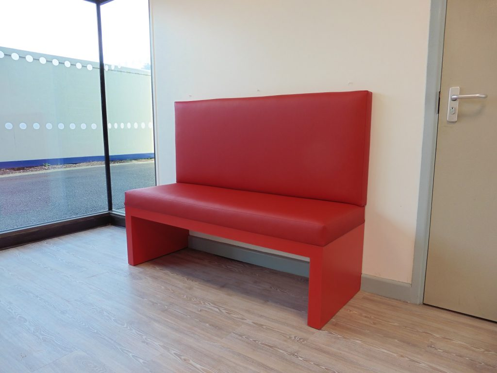 Upholstered bench seating, Hill Upholstery & Design