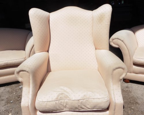 recover & redesign chair- HIll Upholstery & Design, Essex Upholsterers