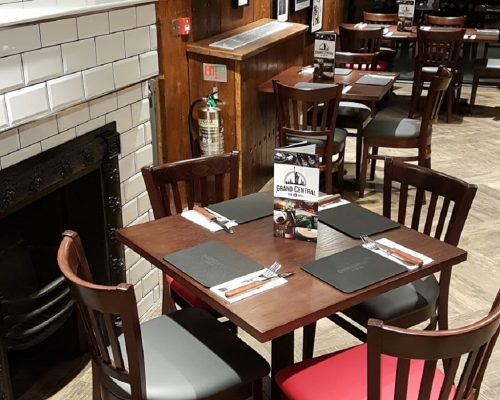upholstered restaurant seating Hill Upholstery & Design Essex