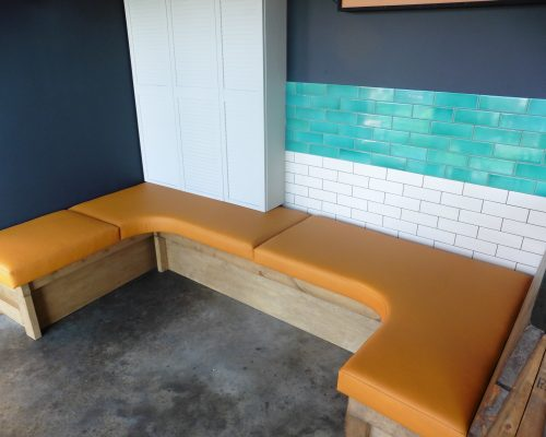 Restaurant seating Upholstery Essex Hill Upholstery & Design