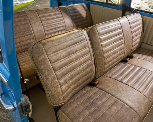 VW camper van reupholstery by Hill Design & Upholstery