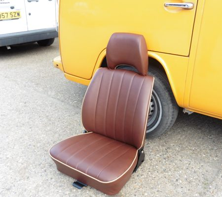 2VW reupholstery seat leather hill upholstery