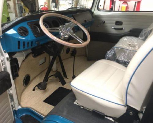 VW Campervan reupholster interiors 2