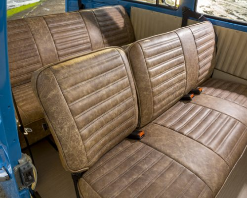 VW reupholstery back seats hill upholstery