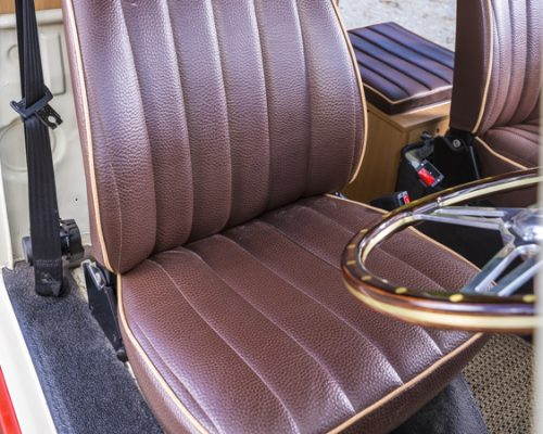 VW reupholstery front seat 04 hill upholstery
