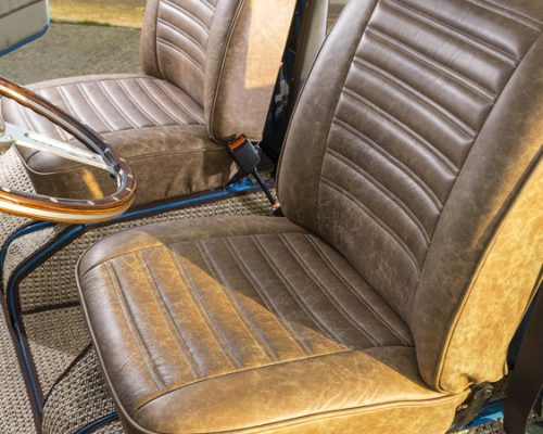 VW reupholstery front seat 05 hill upholstery