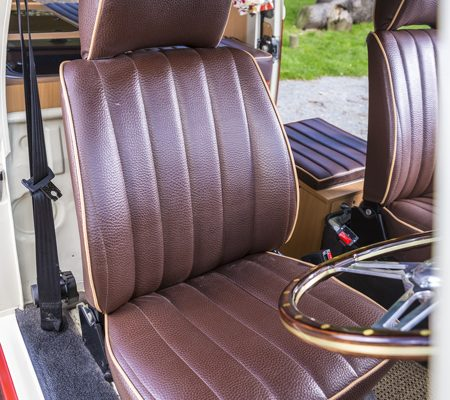 VW reupholstery front seat 2 hill upholstery
