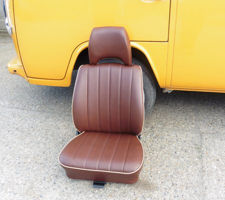 VW reupholstery seat leather 3 hill upholstery
