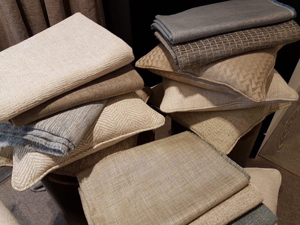 London Design Week GP & J Baker cushions Hill Upholstery & Design Essex