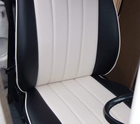 VW campervan reupholstery driver's seat Hill Upholstery & Design Essex