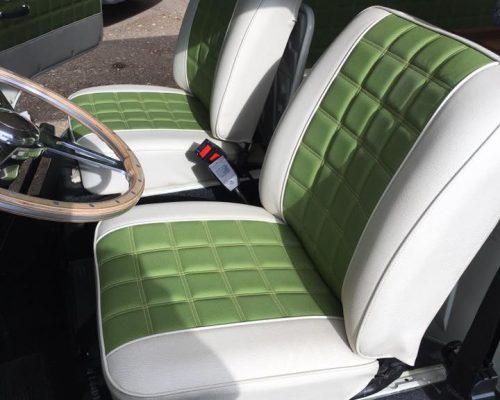 VW Campervan Reupholstery Hill Upholstery & Design Essex