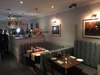 Cucina Italian Restaurant Leigh on sea Essex manufacture restaurant seating recover restaurant booth restaurant banquette recover dining chair Southend upholsterers Fobbing (5)