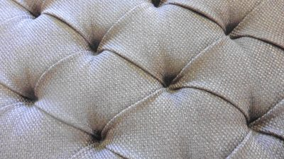 Deep buttoned upholstered headboards - Hill Upholstery & Design