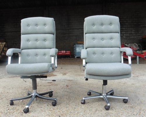 Office chair reupholster - Hill Upholstery & Design, Upholsterers Essex