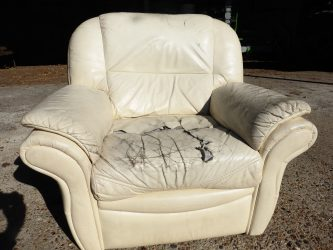 Leather suite refurbish recover reupholster - Hill Upholstery & Design, Upholsterers in Essex