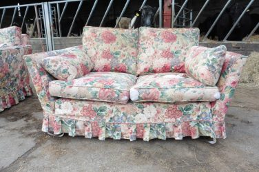 Sofa recover, Upholsterers Essex, Hill Upholstery & Design (1)