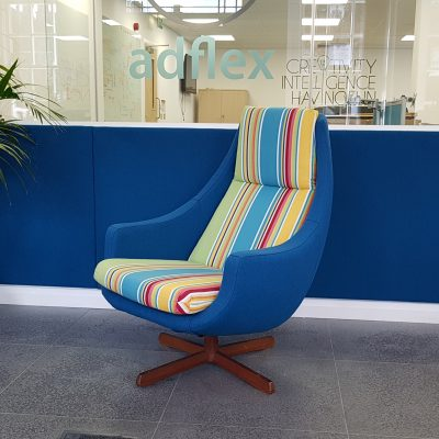 Upholstered wall panels