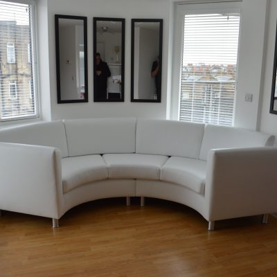 Upholsterers in London – Custom made sofa