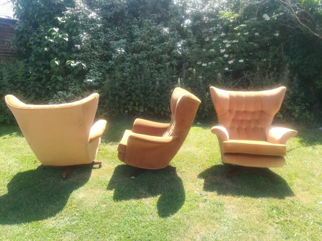 G-Plan Chairs Hill Upholstery & DEsign Essex London