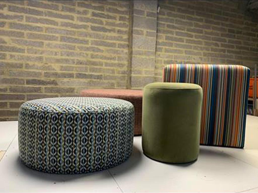 Bespoke Upholstered Footstools