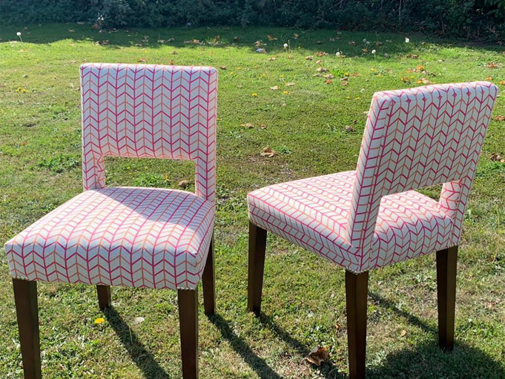 Bespoke Reupholstered Dining Chairs 01 Hill Upholstery