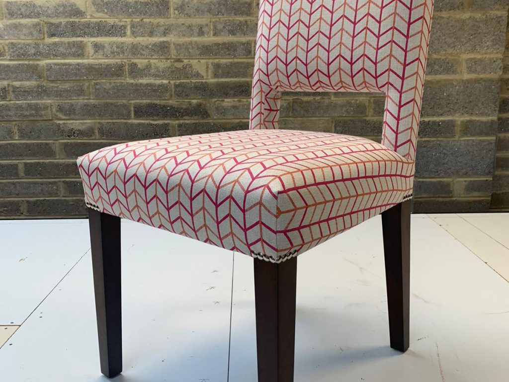 Bespoke Reupholstered Dining Chairs 04 Hill Upholstery