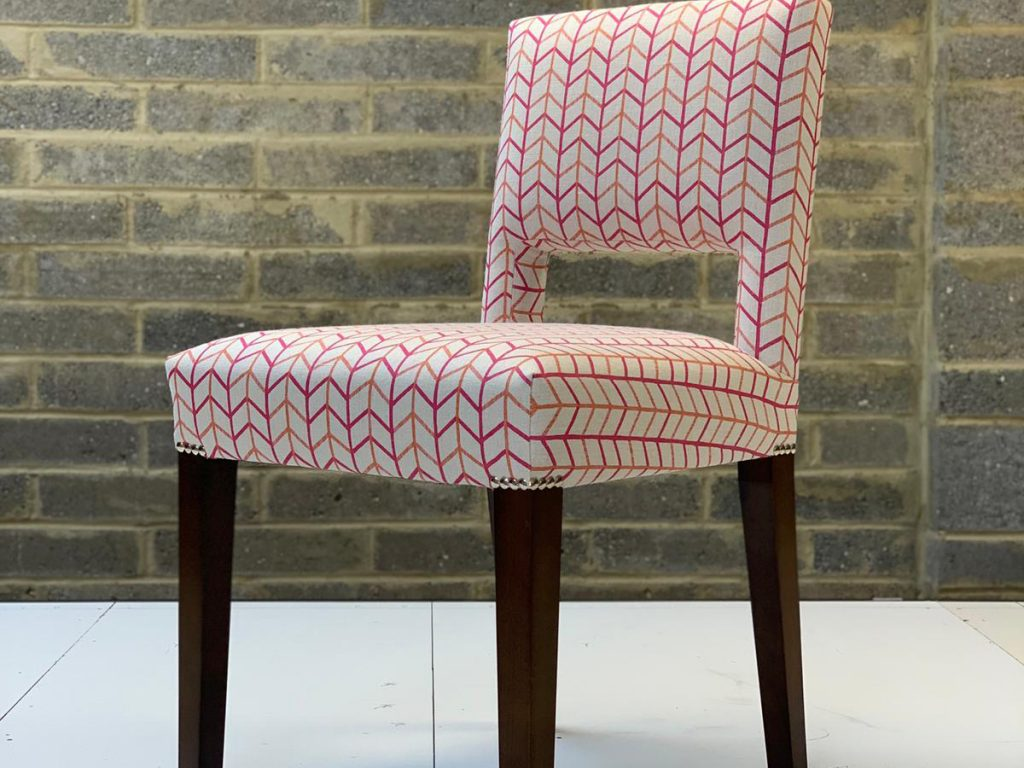 Bespoke Reupholstered Dining Chairs 05 Hill Upholstery