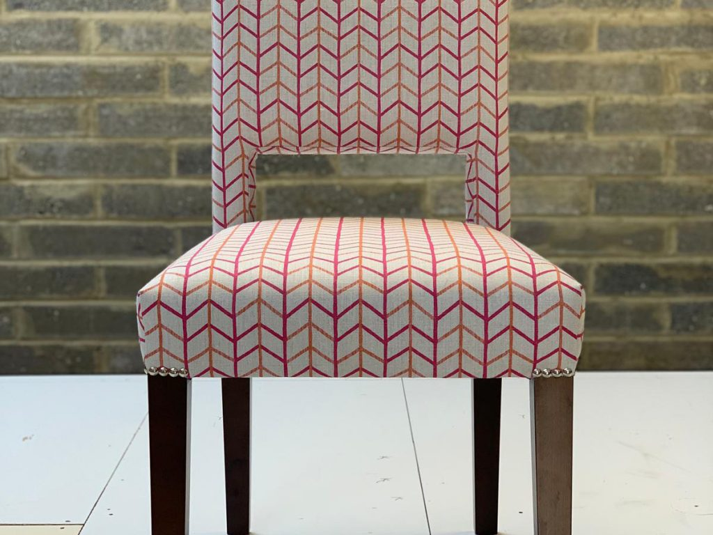 Bespoke Reupholstered Dining Chairs 06 Hill Upholstery