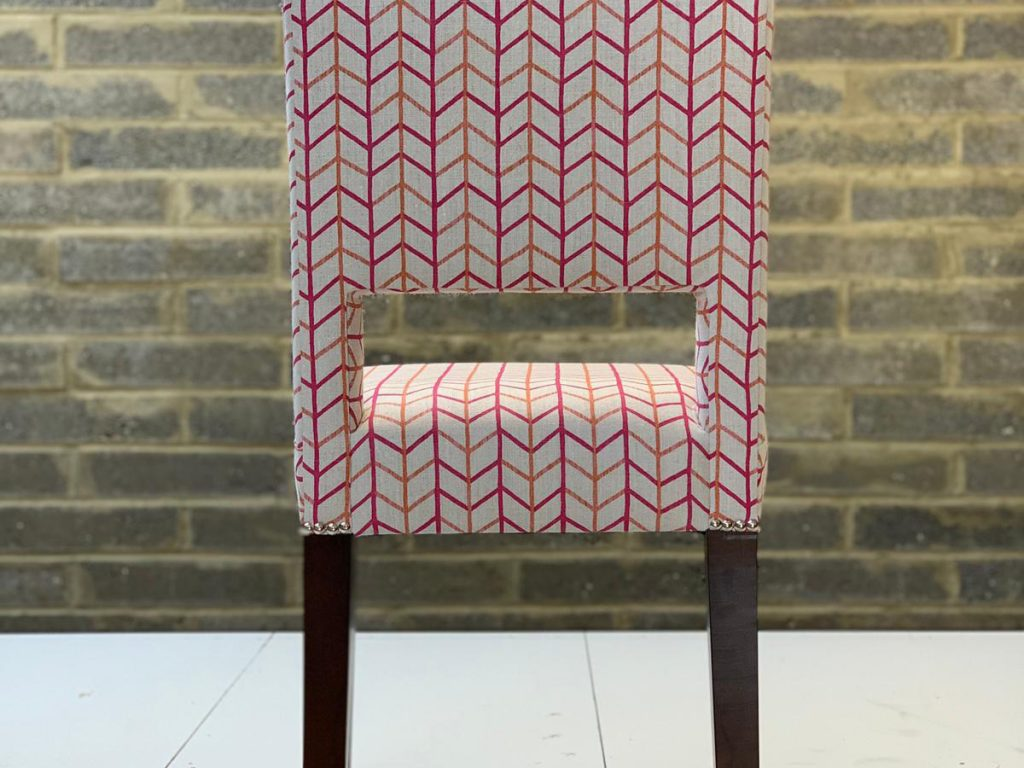 Bespoke Reupholstered Dining Chairs 09 Hill Upholstery